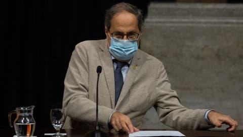 Cataluña roza los 100.000 contagios entre críticas a Torra por la ...