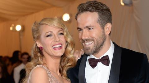 Instagram - Ryan Reynolds y Blake Lively enseñan por primera