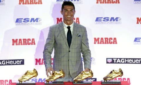 376a009d92 Bota de Oro: Cristiano Ronaldo recibe la Bota de Oro: Sé que soy el ...