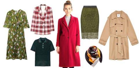 1d11cc2e2566 Tendencias de consumo: Un abrigo rojo, una falda midi... y otros ...