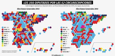 Mapa De Elecciones 2015.La Resaca Electoral Del 20 D Explicada En Diez Mapas Y Dos