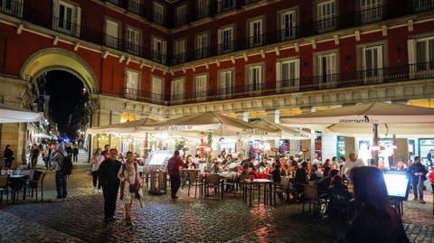 Restaurantes Bares Y Restaurantes Madrileños No Podrán