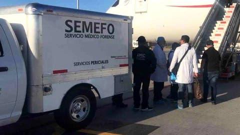 Resultado de imagen para forenses aeropuerto de mexico