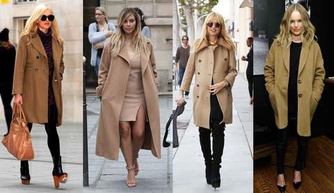 Cómo llevar el abrigo camel