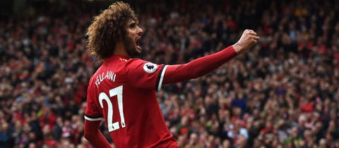 Phil Neville delighted with Marouane Fellaini's performance against Crystal Palace