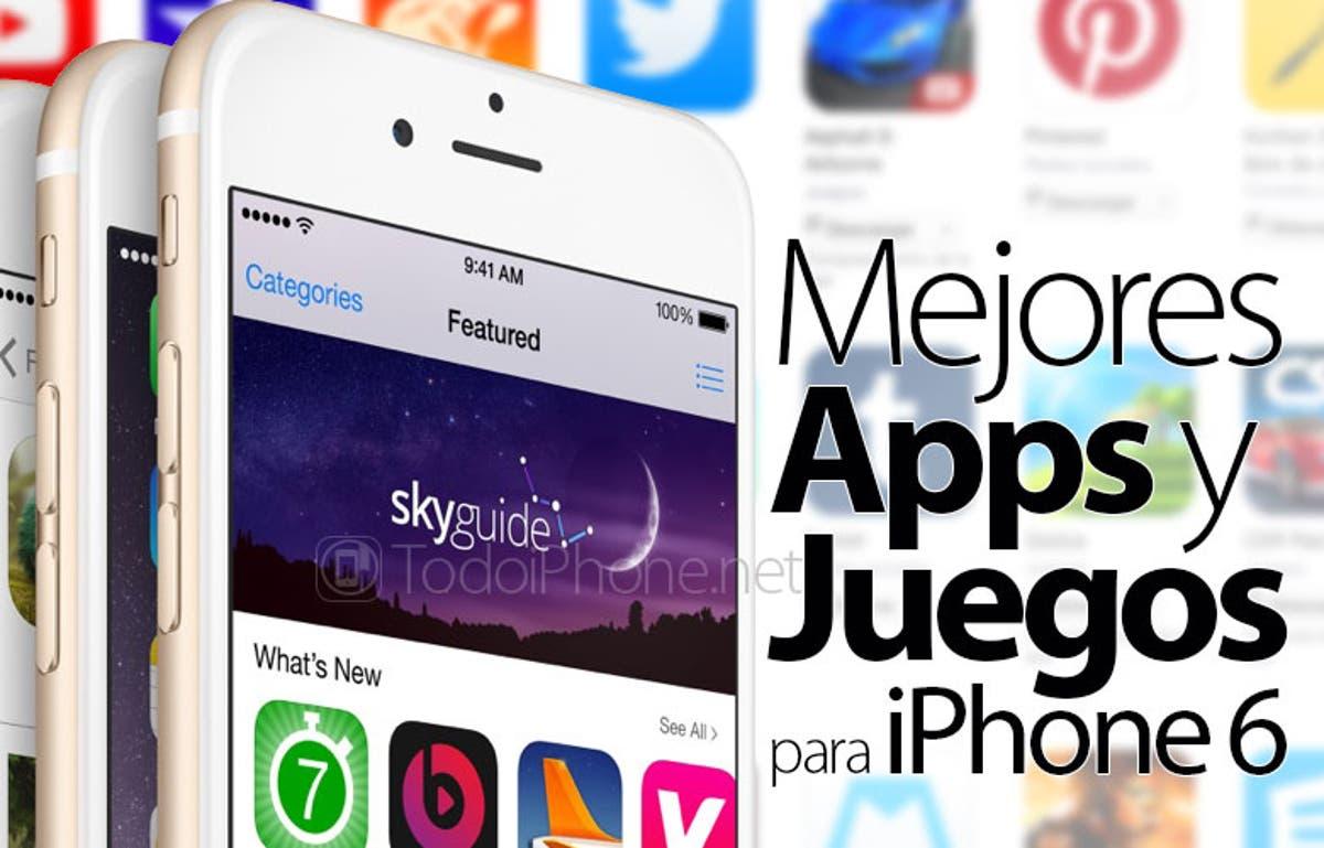 Mejores Apps Y Juegos Para Iphone 6