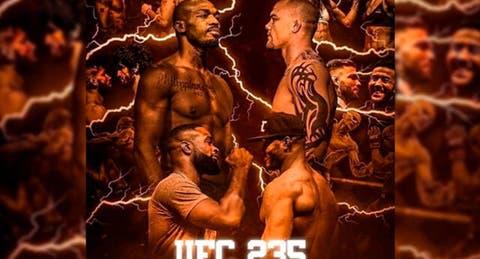 ufc 235 fight card
