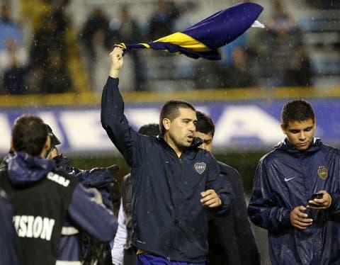 Juan Román Riquelme jugaba hace cinco años su último partido en ...