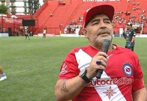 Argentinos Juniors Maradona