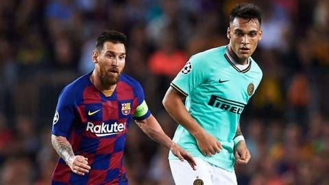 El Inter propone el trueque de Lionel Messi por Lautaro Martínez ...