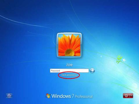 get password windows 7 administrator