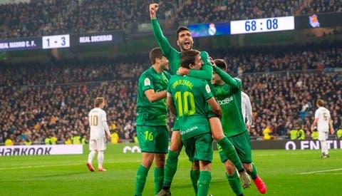 Real Madrid Cayo 4 3 Ante Real Sociedad Y Fue Eliminado De La Copa