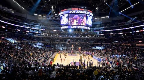 Seats At Staples Center For Lakers Game