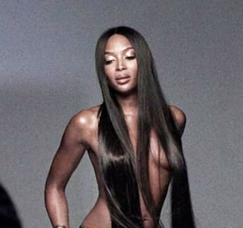 Naomi Campbell Poses Nude I Never Felt At Ease In My Own Skin