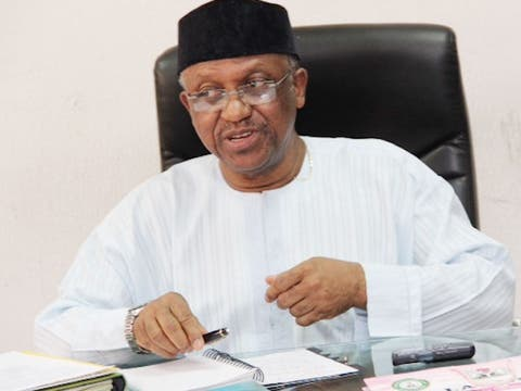 Minister of state for Health, Dr. Osagie Ehanire