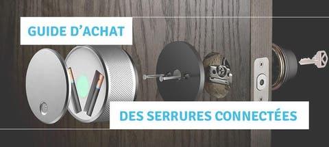Technologie Bluetooth Ouvrez et Fermez la Porte dEntr/ée avec Votre Smartphone Installation Facile App pour iOS//Android Serrure Connect/ée Cr/éez des Acc/ès Permanents et Temporaires SOMFY