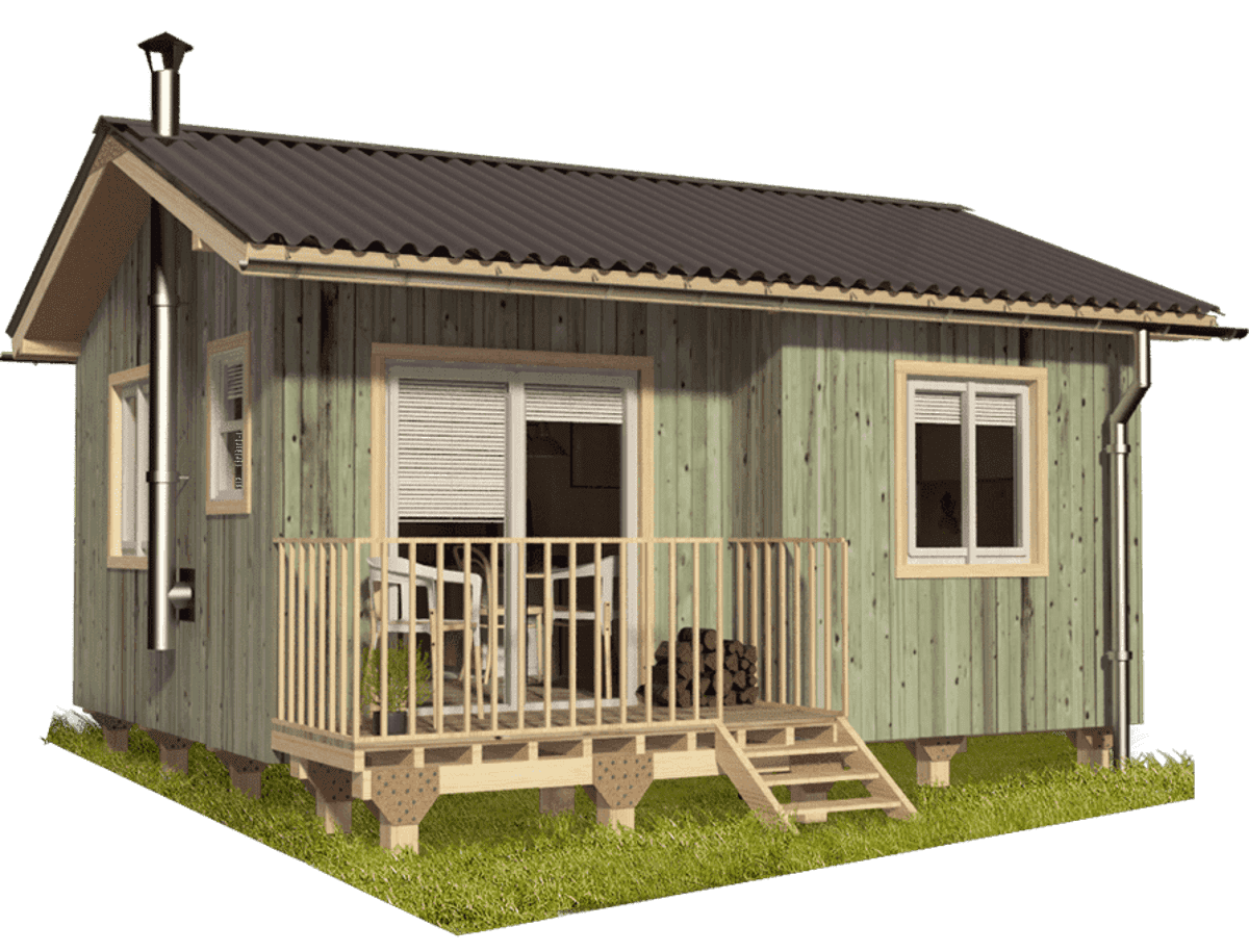 Small Bungalow House Plans Mila - Tiny House Blog