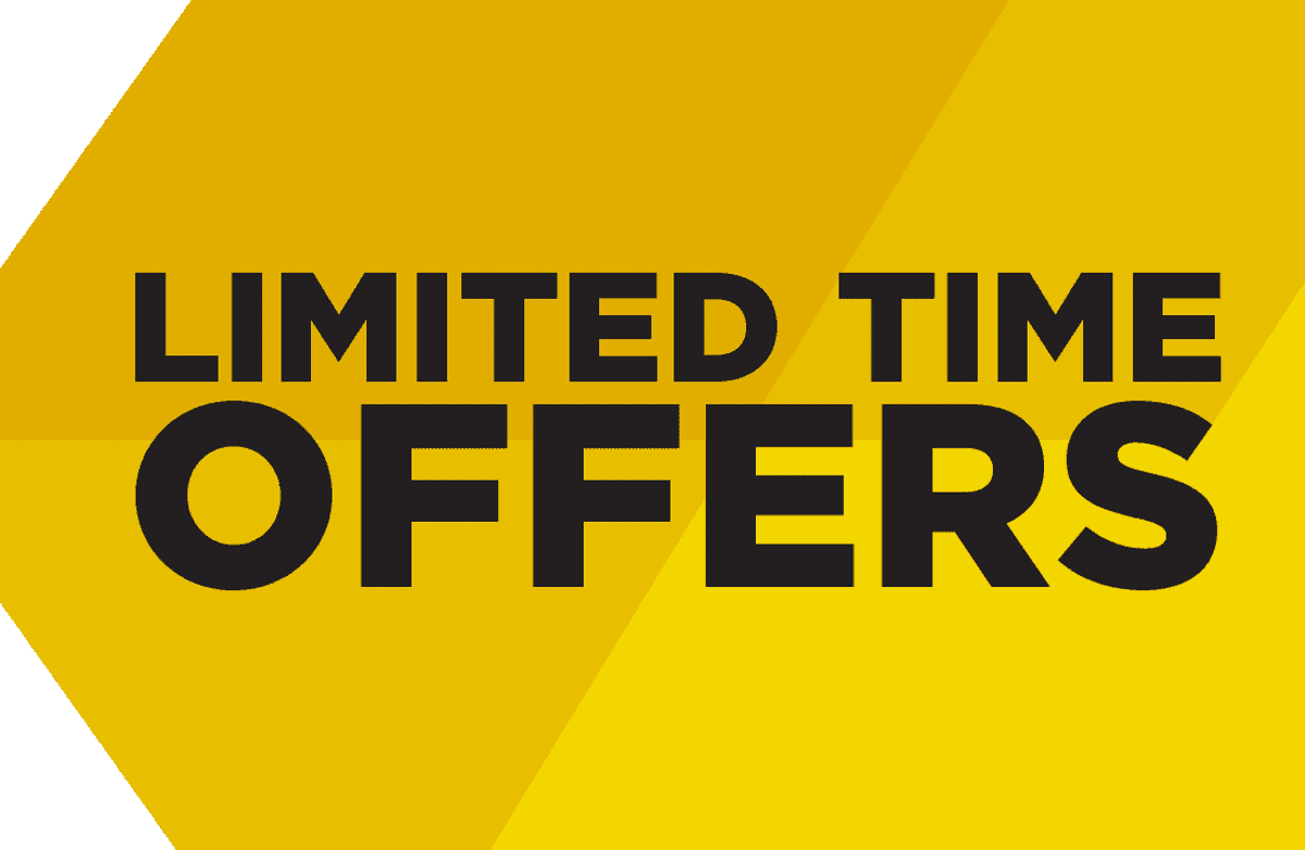 Image result for Limited Time Offers