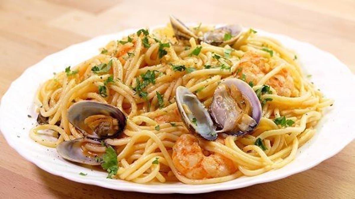 Espaguetis Con Gambas Y Almejas Otra Forma De Preparar Pasta