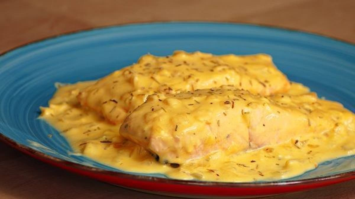 recetas de salmon al horno con salsa de naranja