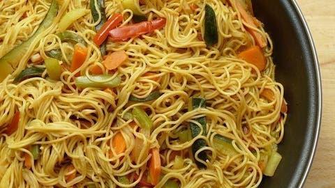 Noodles De Arroz Con Verduras Cocina Casera Y Facil