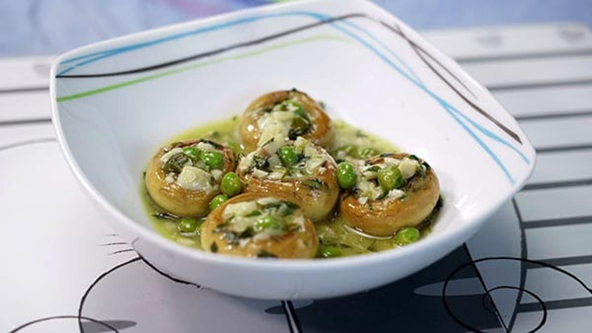 Champiñones En Salsa Verde Cocina Casera Y Facil