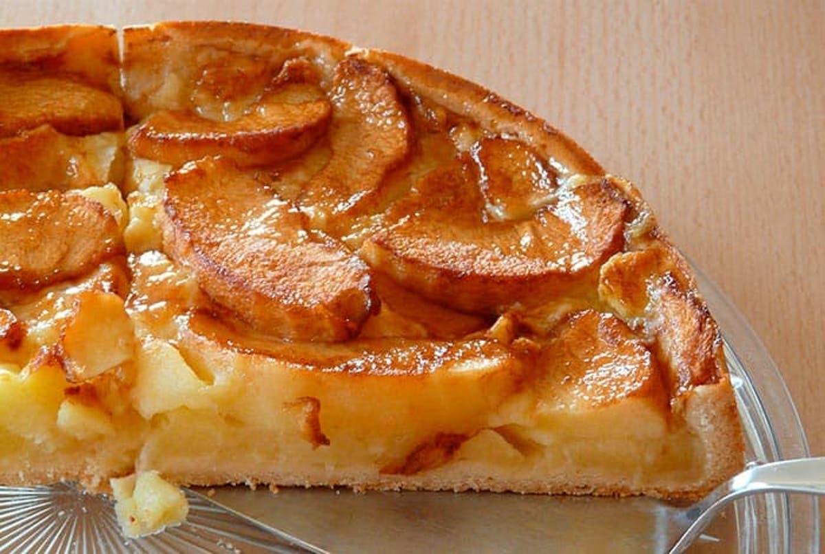 receta para hacer manzana al horno con canela