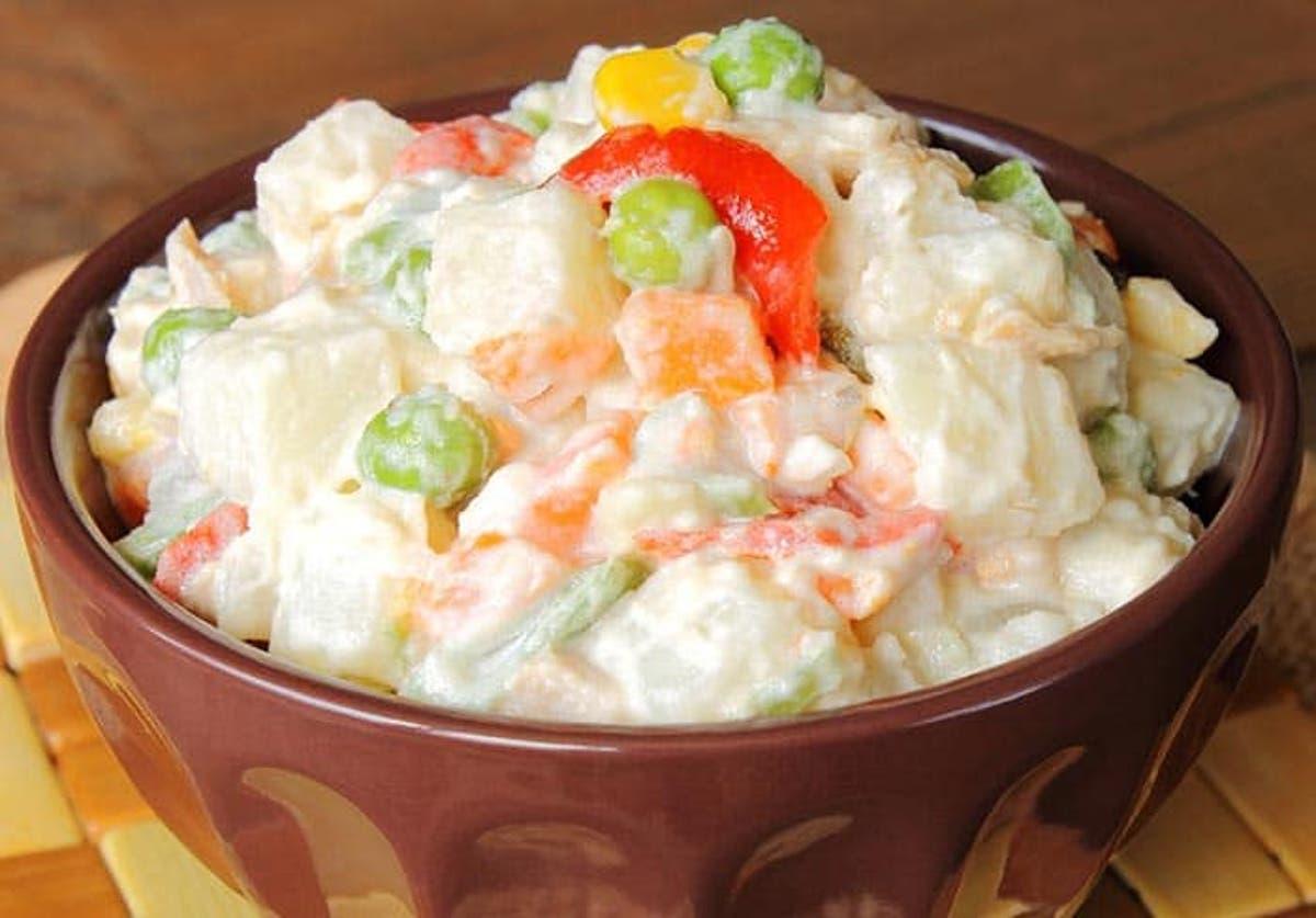 receta para preparar mayonesa con leche