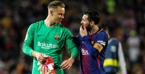 Lío con Ter Stegen en el Barça: bronca con Messi y quiere largarse ...