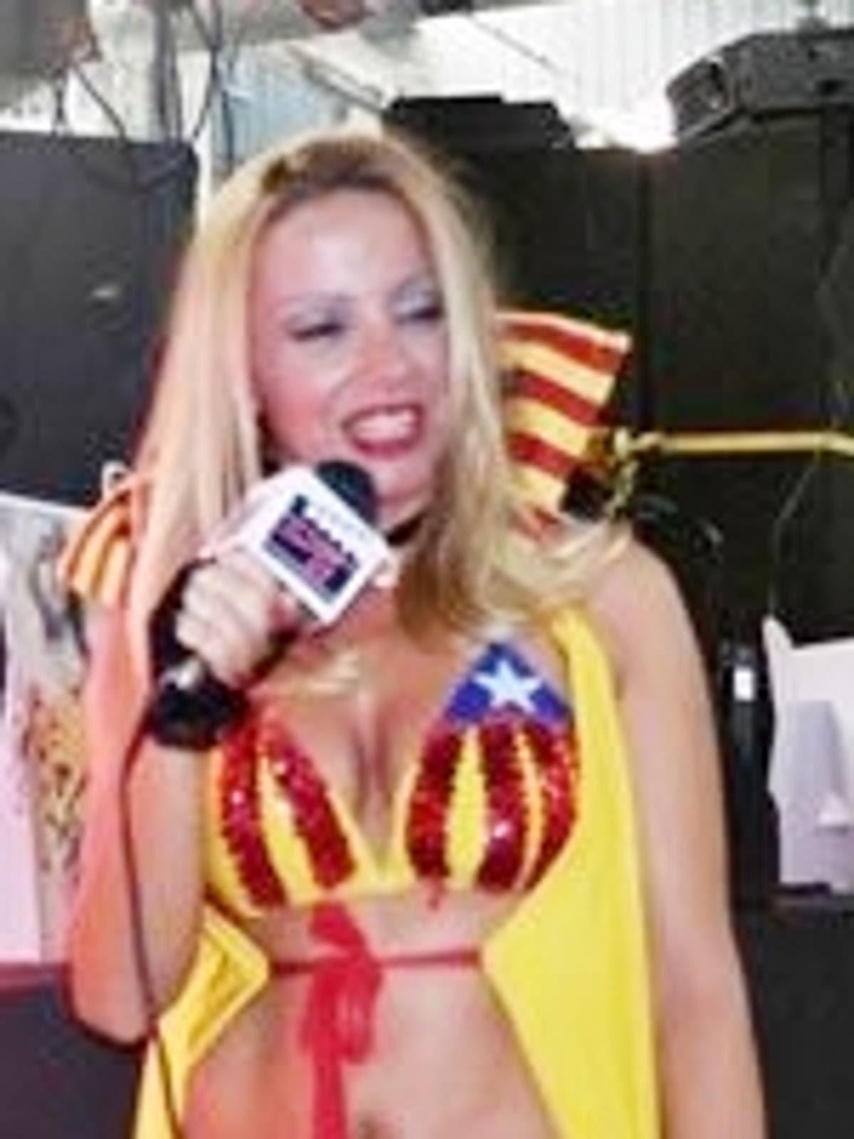 Actriu Porno Catala la nostra dona de bandera la república