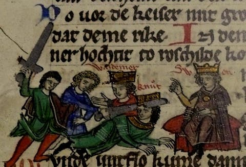which invention was named after a medieval king?