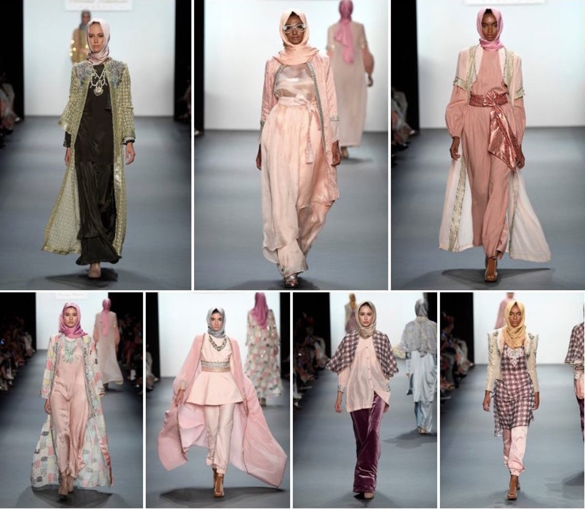 Muslim Designer Presents First Hijab Collection at New York