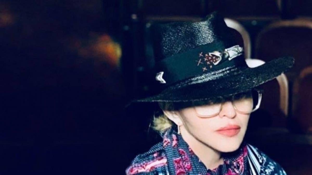 Madonna Dons Hat By Moroccan Designer Youssef Lahlou For World Tour Opening
