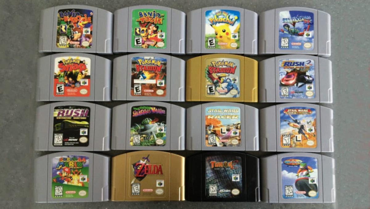 Posible listado de juegos de Nintendo 64 Mini - MuyComputer